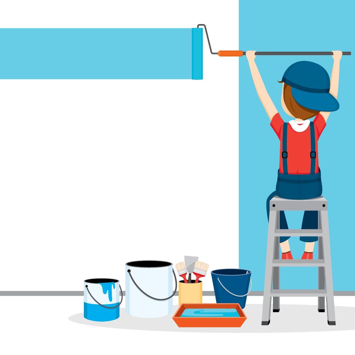Comment peindre un mur ext rieur Repeindre un mur